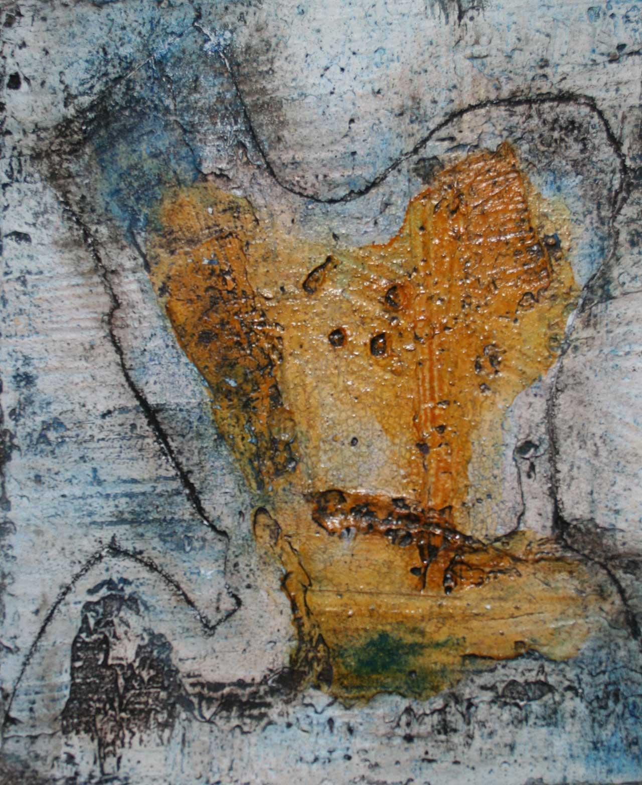 Fresko Natur 2 Herbst des Lebens Freskotechnik auf Fermacellplatte